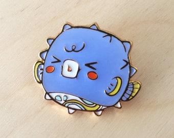 4386ab5b25219 Pufferfish - Enamel Pin
