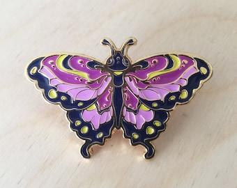 Butterfly (Purple) - Enamel Pin