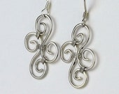 Celtic Spiral Earrings in...