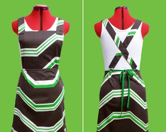 Womens A-line Pinafore Dress - AU 10/US 6, sustainable fashion, vintage dress, pinafore, jumper dress, retro dress, aline dress, handmade