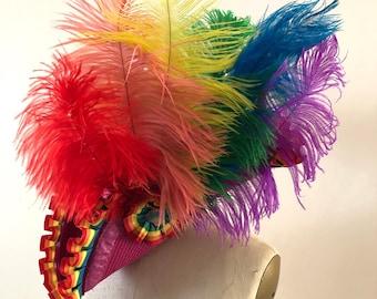 Rainbow Pride Pirate Hat - Custom Order