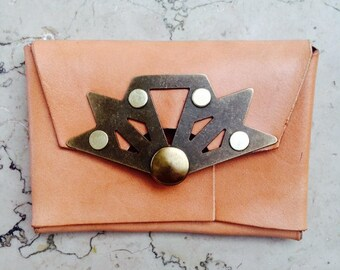 Leather Card and Bill Wallet