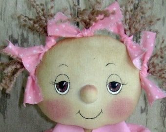 CF247 HOPE - Breast Cancer Awareness - PDF ePattern Cloth Doll Pattern