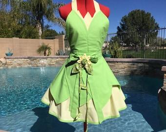 68d1091e2a0 Tiana inspired Dress Up Costume Sassy Apron