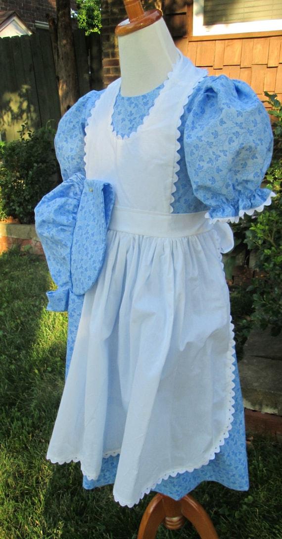 ...Bonnet..PinaforeCostume short sleeve 2020 Orders ONLY..Girls Pioneer Dress PLEASE read full details inside ad