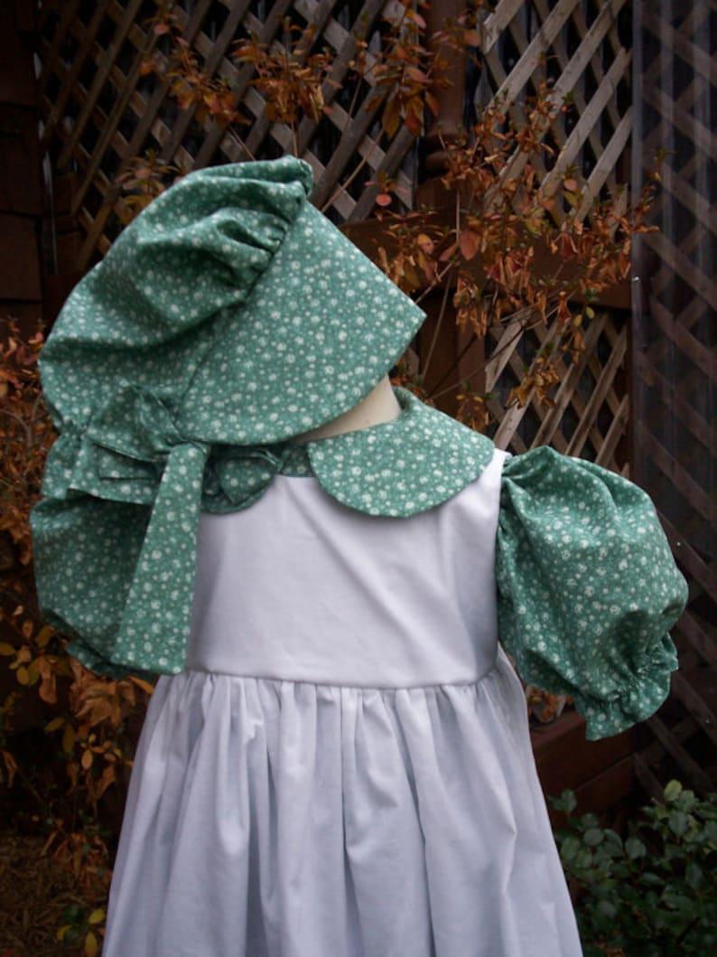 2020 orders ONLY..Laura Ingalls dressLittle House Prairie Costume.short sleeve