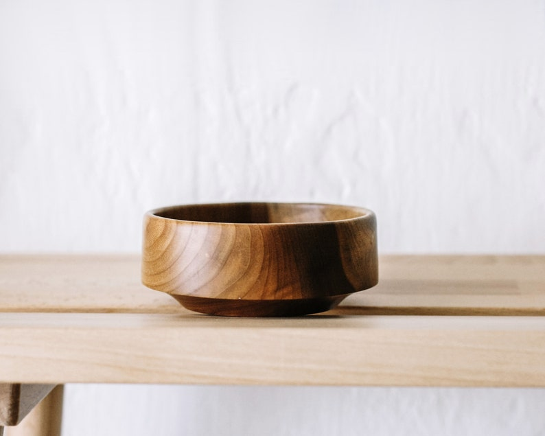 Vintage Hand Turned Myrtle Wood Bowl from Oregon/Wood image 0