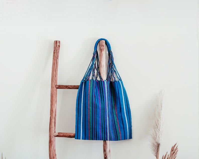Handmade Mexican Woven Hammock Bag/Textile/Tote/Purse/Shoulder image 0