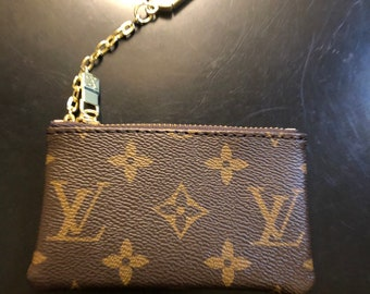 4fbeaddc7ded81 Upcycled Louis Vuitton Coin Purse
