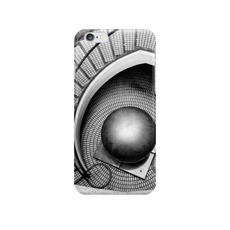 Abstract Architecture MC Escher photo tote bag, surreal black and white photography art modern urban city San Francisco Escher-ish