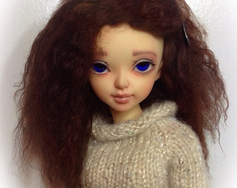 Tibettan  .   fur Mini Fee ..size 6.5 to 7 wig