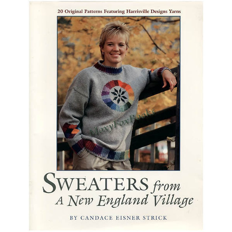 Sweaters From A New England Village 20 Original Patterns Etsy