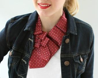 Women's Ascot - Dress Scarf - Ascot Tie - Business Woman Gift.