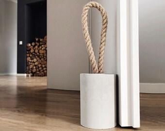 Elegant Beton Türstopper | Beton Dekoration | Geschenke Für Zuhause | Moderne  Einrichtung | Minimalistische Geschenkidee | Modernes Design