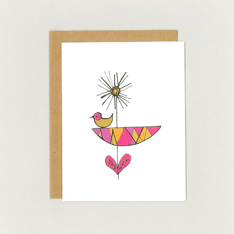 Flower Cards - all occasion card, blank card, thank you card, just because,  thinking of you