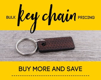 6-25 Key Chains, Bulk Key Chains, Wood Key Chain, Custom Wood Key Chain, Custom Key Tag, Personalized Key Chain, Key Rings, Bag Accessory