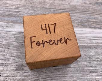 Area Code, Hometown Pride, City Box, Personalized Ring Box, Custom Wood Ring Box, Engagement, Keepsake Box, Jewelry Box, Proposal Ring Box