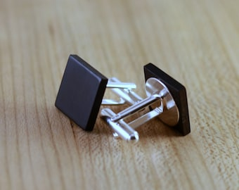 Non-Bezeled Cuff Links