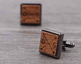Bezeled Cuff Links