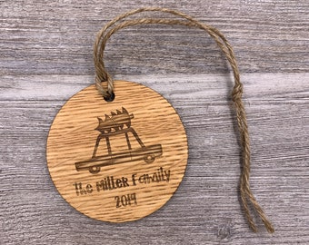 Family Ornament - Personalized Wood Christmas Ornament - Custom Ornament - Christmas Gift - Holiday Gift - Wood Ornament - Personalized Gift