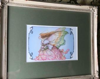 Pettals framed 8x10 print