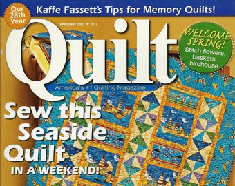 Quilt Magazine ~ April May 2007