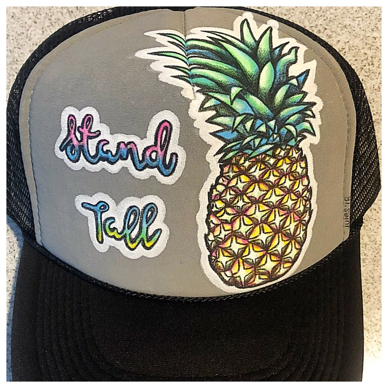 9d242afe51bed Stand Tall Pineapple trucker hat