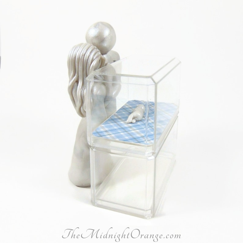 Untouchable  NICU baby keepsake with one or both parents and image 0