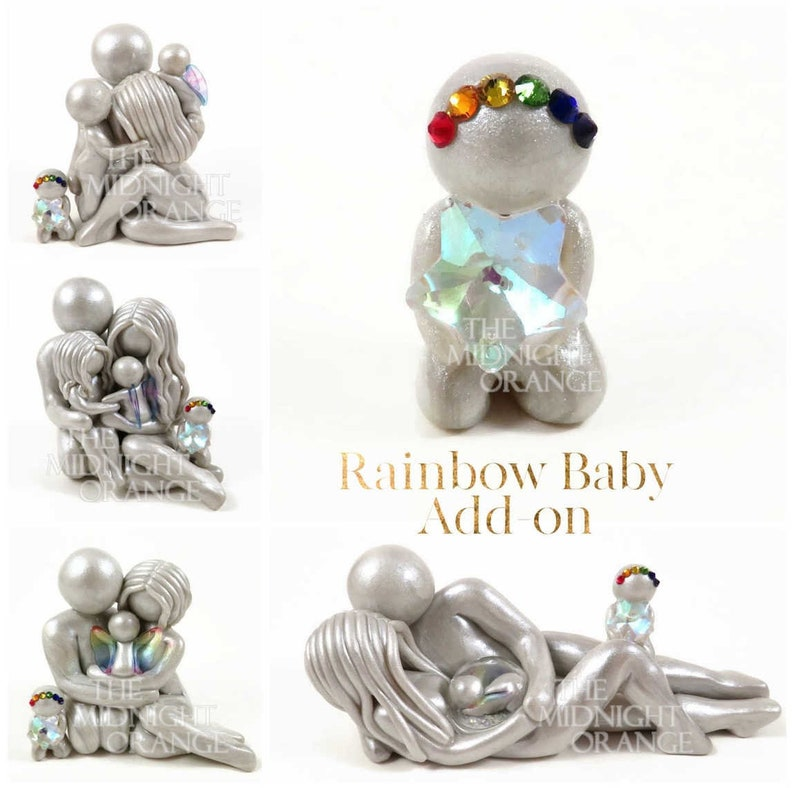 New baby add on for existing sculptures  rainbow baby image 0