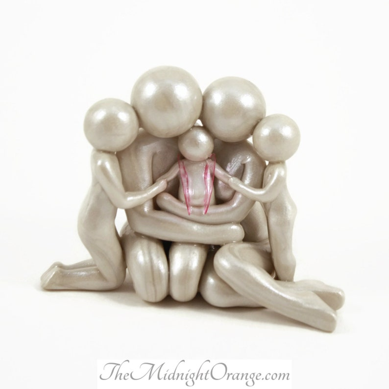 Bespoke Baby Memorial Sculpture  made to order with your image 0