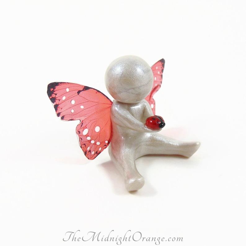 Ladybug Symbol of Comfort  child loss sympathy miscarriage image 0