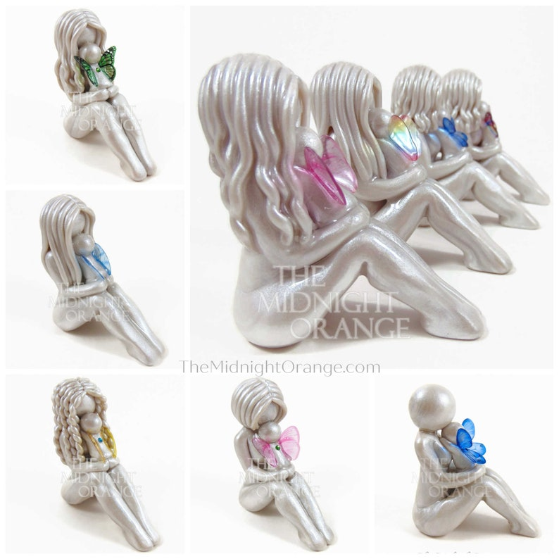 Mother and Baby Angel Child Loss Sympathy Gift for Mom  image 0