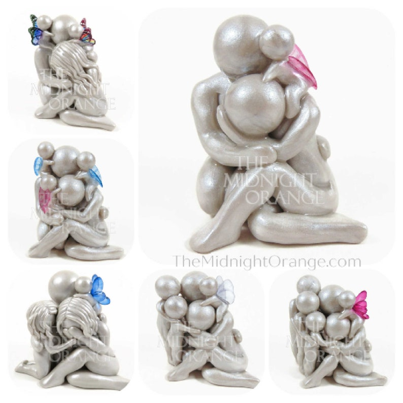 Grief and Comfort Baby Loss Memorial Sculpture  sympathy gift image 0