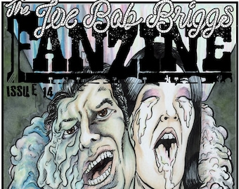 Joe Bob Briggs Fanzine #14 PRINT