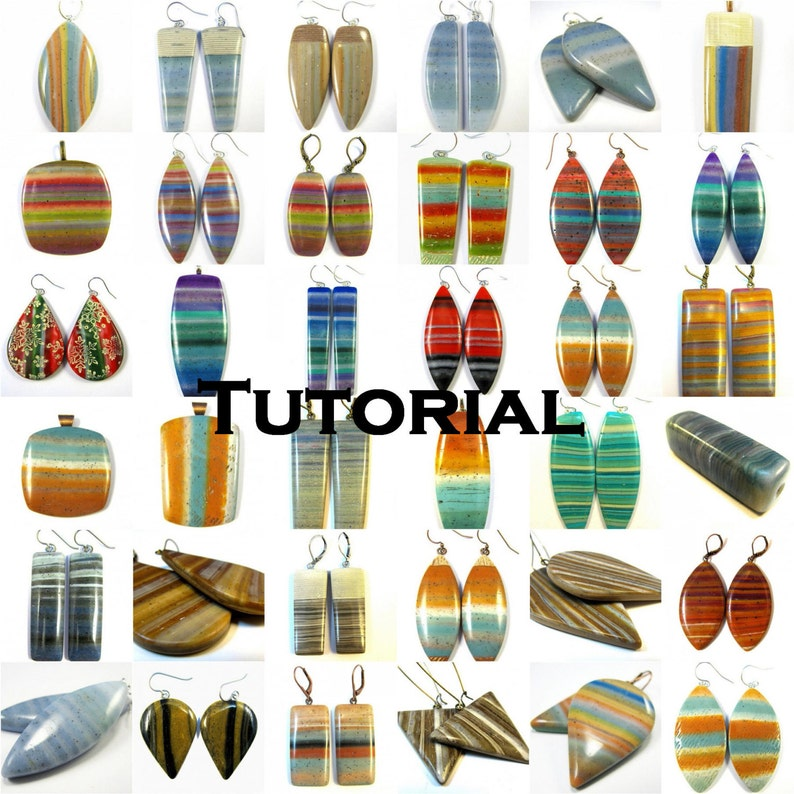 Polymer Clay Tutorial  ENGLISH ONLY Digital Pdf Format  Diva image 0