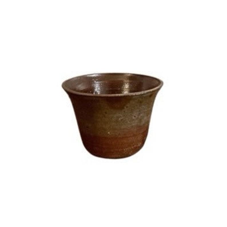 vintage studio pottery bowl vessel image 0