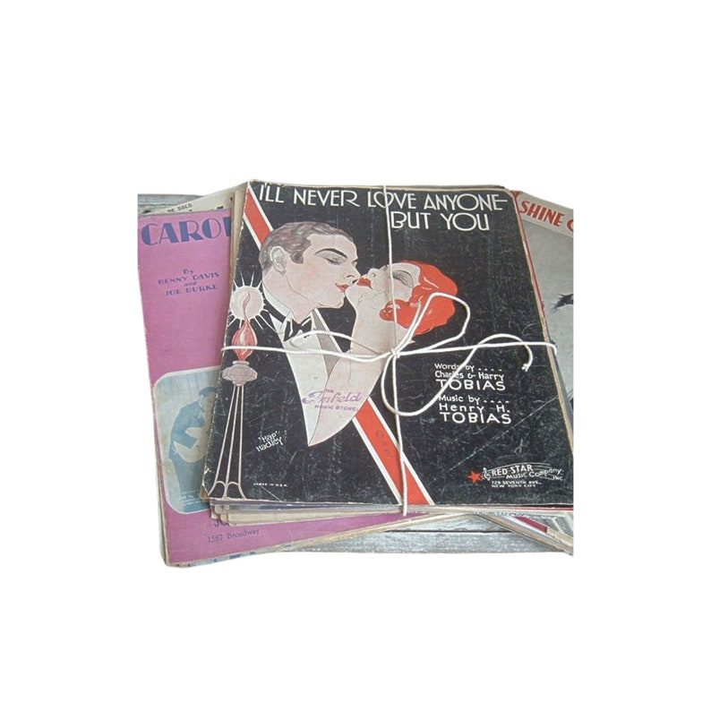 vintage sheet music collection image 0