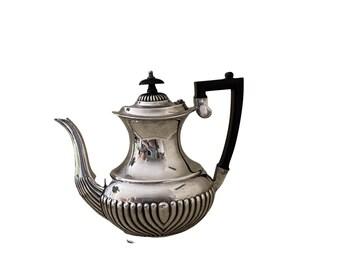 Antique sheffield coffee pot, tea pot EPNS