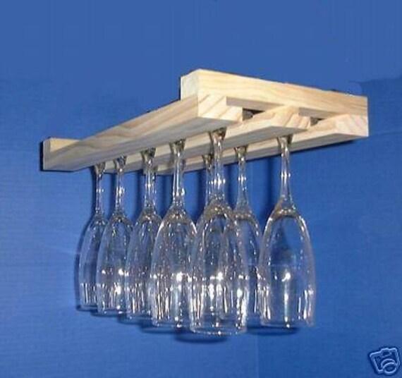 verre porte suspendu vin verre porte verres porte 15 pouces etsy. Black Bedroom Furniture Sets. Home Design Ideas