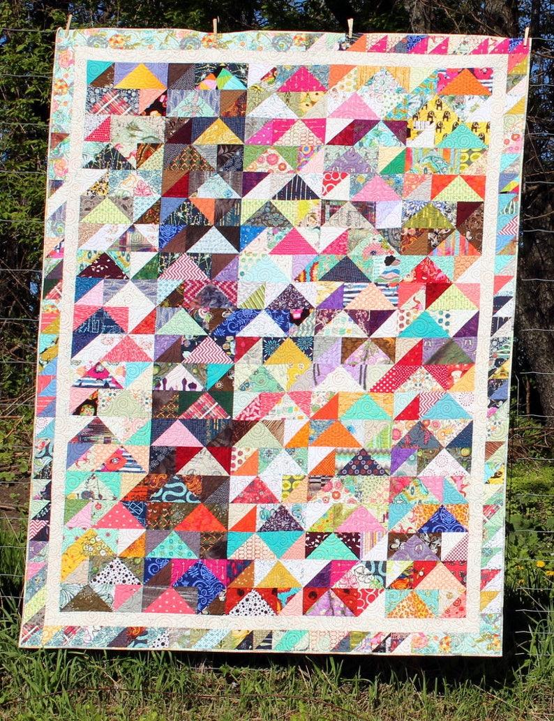 Caravan of Geese Quilt Pattern pdf image 0