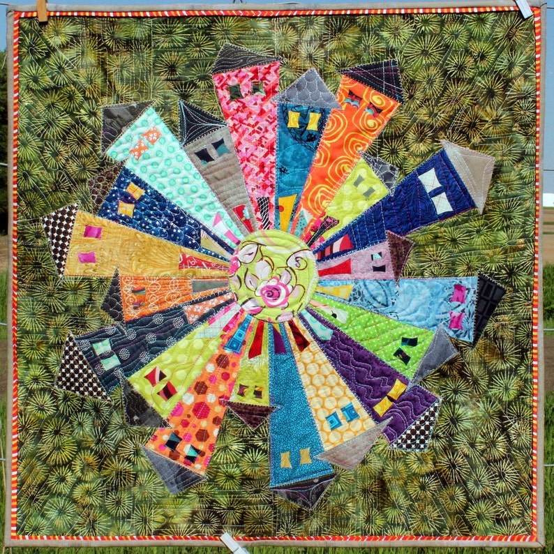 WHOLESALE  Dresden Neighborhood Mini Quilt Pattern minimum image 0