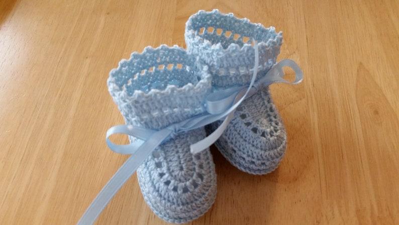 Baby Booties Crochet Baby Boy Shoes