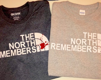78368a4e240d Game of Thrones shirt - The North Remembers - North Face