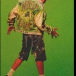 Joey McIntyre NKOTB Jean Vest Punk custom For CAROLE
