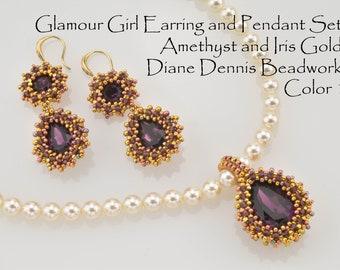 Glamour Girl Earring and Pendant Full Kit