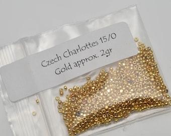 Czech 15/0 Charlottes for the Edwardian Splendor Bracelet