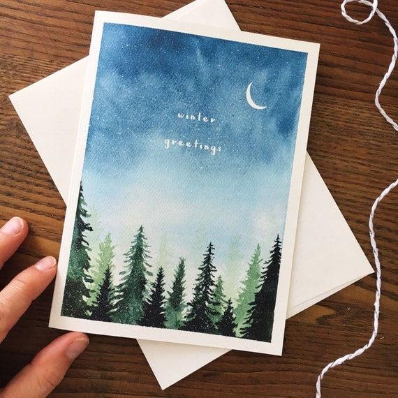 single religious christmas cards