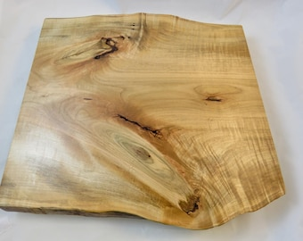 Curly Knotty Maple Lazy Susan- made in Maine- mothers day-fathers day-gifts