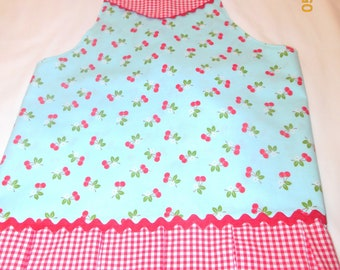 Girls Cherries Apron