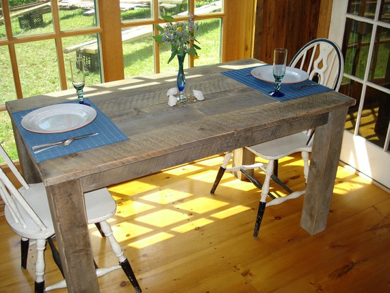 36 X 48 Kitchen Table And Chairs Interesting Rustic Dining Room Table 12 X 12 X 12or 12H Custom Request New Picts Soon 3036 2